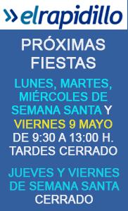 horario-fiestas-abril-mayo-2019